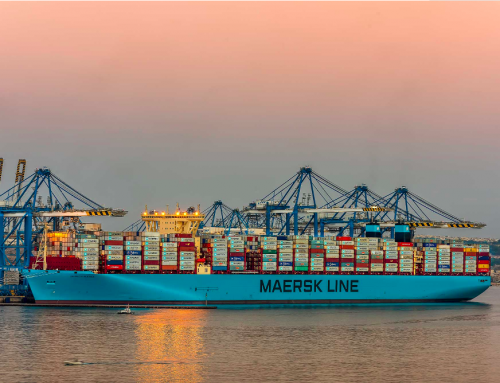 Biggest Container Vessel to Visit Malta calls at Malta Freeport
